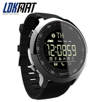 LOKMAT Smart Watch Sport Waterprooaf Pedometers Message Reminder Bluetooth Outdoor Swimming Men Smartwatch For Ios Android