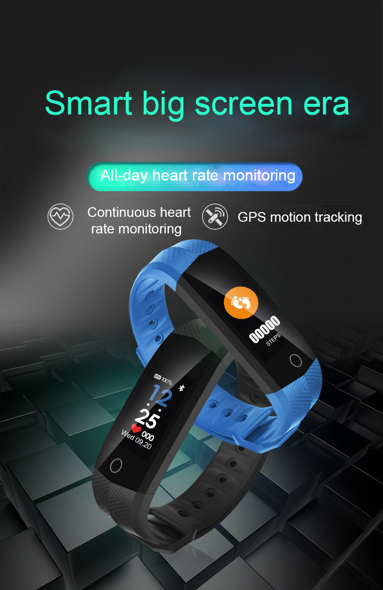CD02 Smart Band Bracelet Wristband Heart Rate Monitor