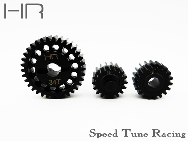 ФОТО Hot racing Steel center gear set for YETI XL 90032 90038