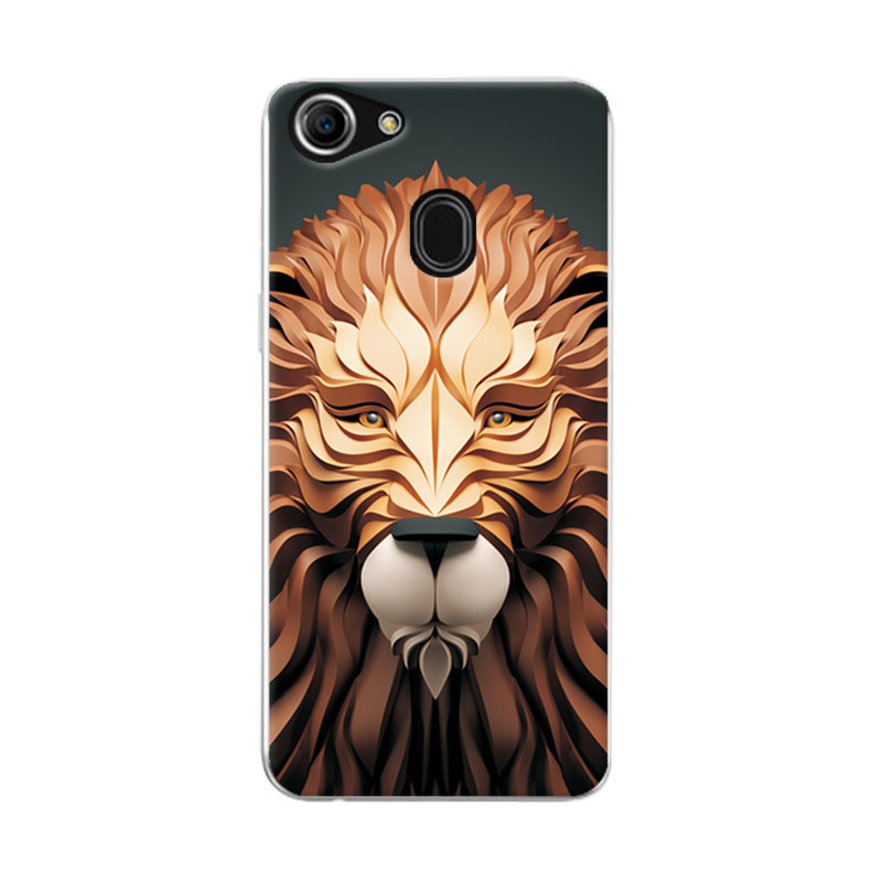 Coque For OPPO F7 F 7 Case Cover Fashional Attractive Painting Soft Silicone Phone Cases For OPPOF7 Back Shell 6.23 Inch