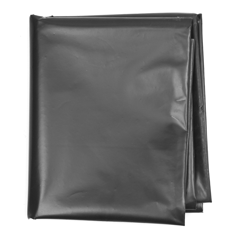 Overvalue 3X2m Fish Pond Liner Garden Pools Reinforced HDPE Heavy Duty Landscaping Pool Pond Waterproof Liner Cloth 0.2mm