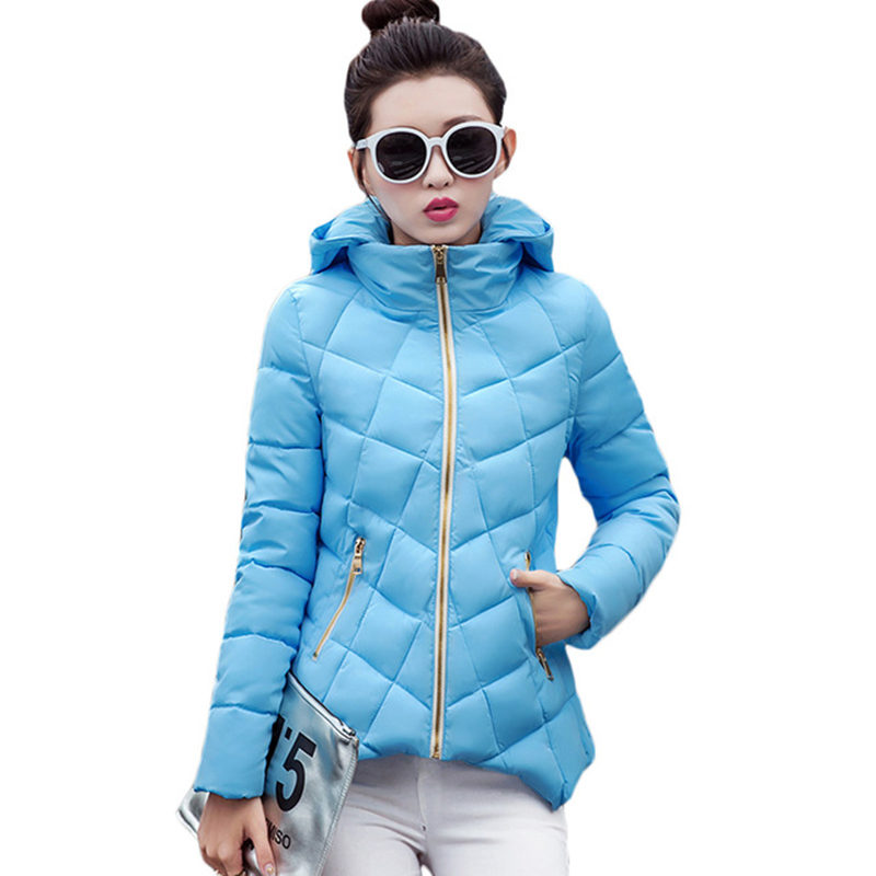 Winter Jacket Women Short Parka Plus Size 4XL Down Cotton Coat Hooded Winter Coat Women Manteau Femme Hiver Female Outwear C3705 women s winter jacket hooded thick warm parkas cartton solid high quality cotton coat manteau femme hiver plus size l 4xl dj29