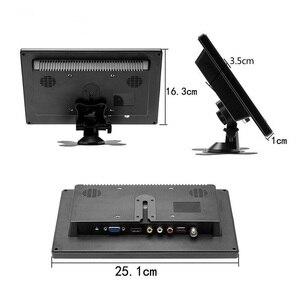 Image 4 - Ekran dotykowy 10.1 cala 1280x800 HD na PS3/4 komputer przenośny monitor bezpieczeństwa Xbox z głośnikiem interfejs hdmi VGA