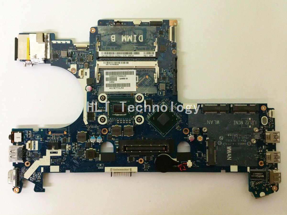 HOLYTIME laptop <font><b>Motherboard</b></font> For <font><b>Dell</b></font> <font><b>E6230</b></font> CN-05CDR9 LA-7731P I5-3320M CPU integrated graphics card 100% fully tested image