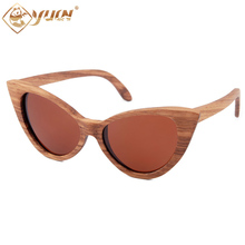 2017 polarized sunglasses women brand designer wooden glasses handmade sun glasses for women W3034