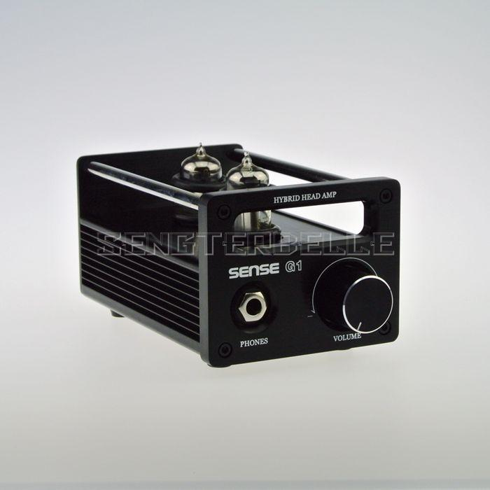 цена на Finished G1 Tube Headphone Amplifier HiFi Stereo Class A Headphone Amp