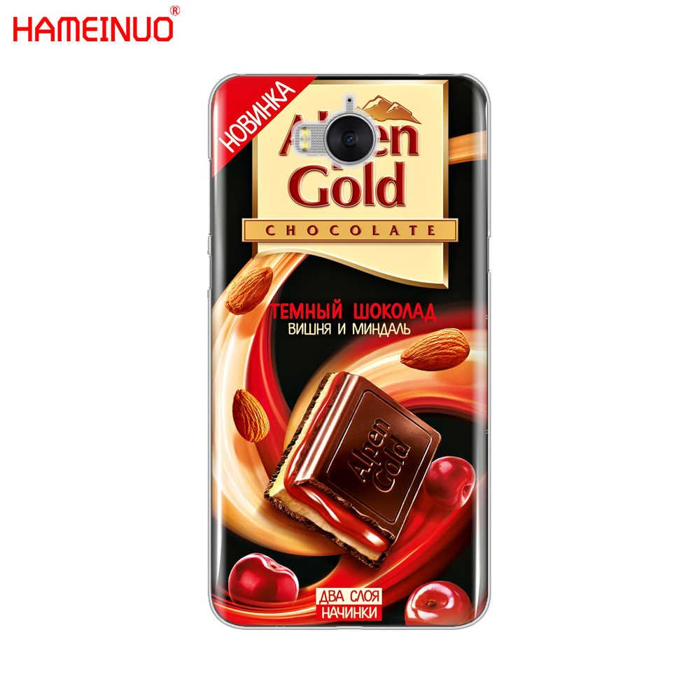 HAMEINUO alenka شريط ونكا الشوكولاته نوتيلا هاتف محمول غطاء حافظة لهاتف huawei honor 3C 4X 4C 5C 5X6 7 Y3 Y6 Y5 2 II Y560 2017