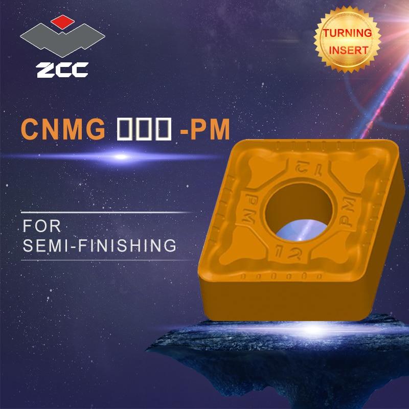 купить Cnc inserts 10pcs/lot CNMG190608-PM CNMG190616-PM lathe cutting tools coated cemented carbide turning inserts steel finishing по цене 4894.74 рублей