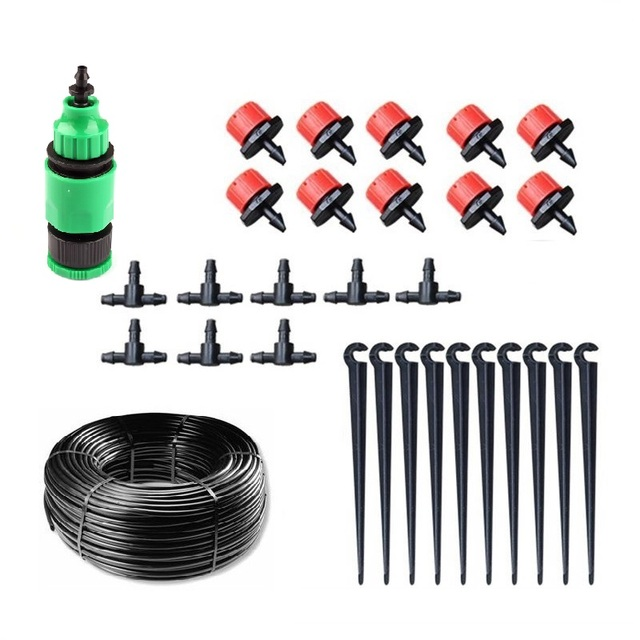New Easy Operation Home Garden Mini Watering Sprinklers Kits Flower Pot Micro Drip Irrigation System Balcony Watering Kit