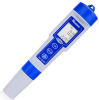 Stift Typ Salz Meter CT-3086 0-5.0% & Temp 2 in 1 LCD Digital Wasserdichte Salzgehalt Meter Tester