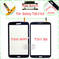 Original TouchScreen With Home Button For Samsung Galaxy Tab 3 8.0 T310 T311 Touch Screen Digitizer Glass High Quality