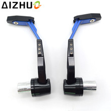 CNC Aluminum Motorcycle Handguard Brake Clutch Lever Guard Slider For Suzuki GSXR 600 750 1000 GSR250S TL1000 GSF 1200 1250