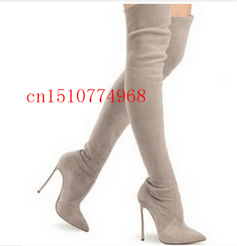 Black Gold Thigh High Boots Promotion-Shop for Promotional Black ...