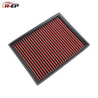 R EP Replacement Panel Air Filter Fits for MG 5 Roewe 350 OEM 50016901 MG 350 High Flow for Cold Air Intake Washable Reusable