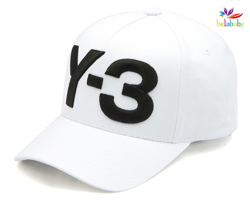 7aa2a534 Belababy 2017 New Y 3 Dad Hat Big Bold Embroidered Logo Hip Hop Baseball  Cap Adjustable Strapback Hats Y3-in Baseball Caps from Apparel Accessories  on ...