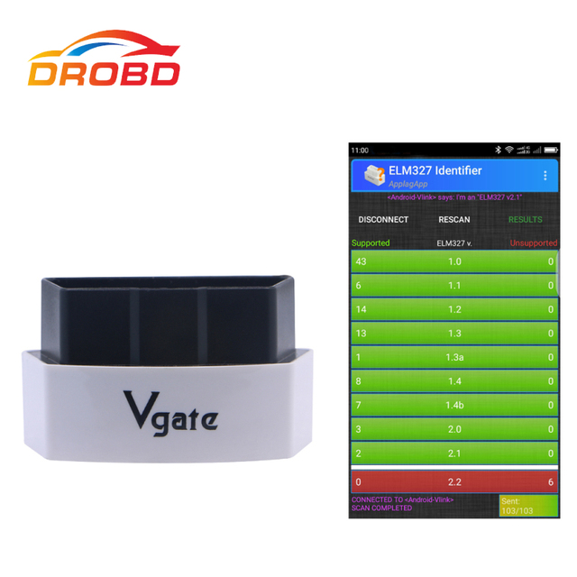US $12 89 |Original Vgate iCar3 Bluetooth 3 0 OBDII OBD2 ELM327 Real 2 1  Bluetooth Diagnostic Interface For Android /PC Support ATPPS-in Code  Readers