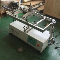 Semi automática máquina de serigrafia garrafa pequena de vidro/garrafa de impressão serigráfica