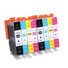 8Pcs 564 564XL Compatible Ink Cartridge For HP Photosmart 4620 5510 5511 5512 5514 5515 5520 5522 5525 6510 6512 6515 C309a