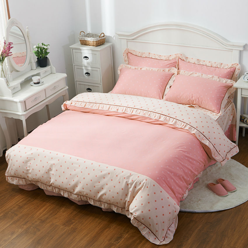 bed sheet style 100 cotton 34 pieces bedding sets twinfull