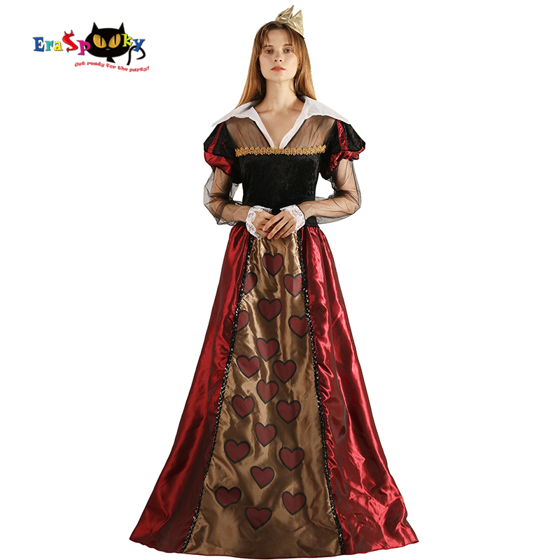buy deluxe queen of hearts women costume halloween and get free shipping on aliexpresscom