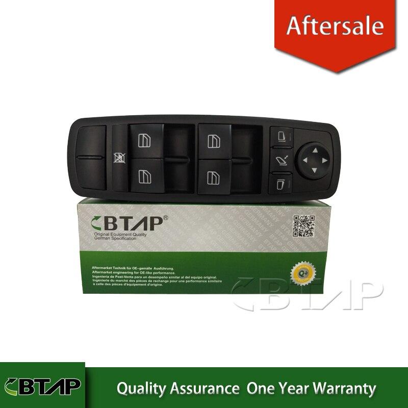 BTAP Commutateur Vitre Électrique Pour Mercedes-benz W164 GL320 GL350 GL450 ML320 ML350 ML450 R350 2518300290 A2518300290 Un 251 830 02 90