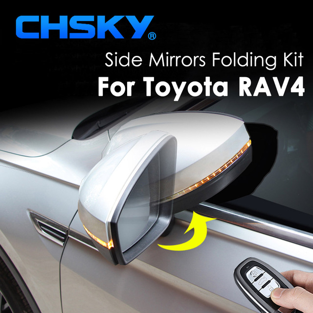 CHSKY Car Side Mirror Folding System For Toyota RAV4 Auto Side ...