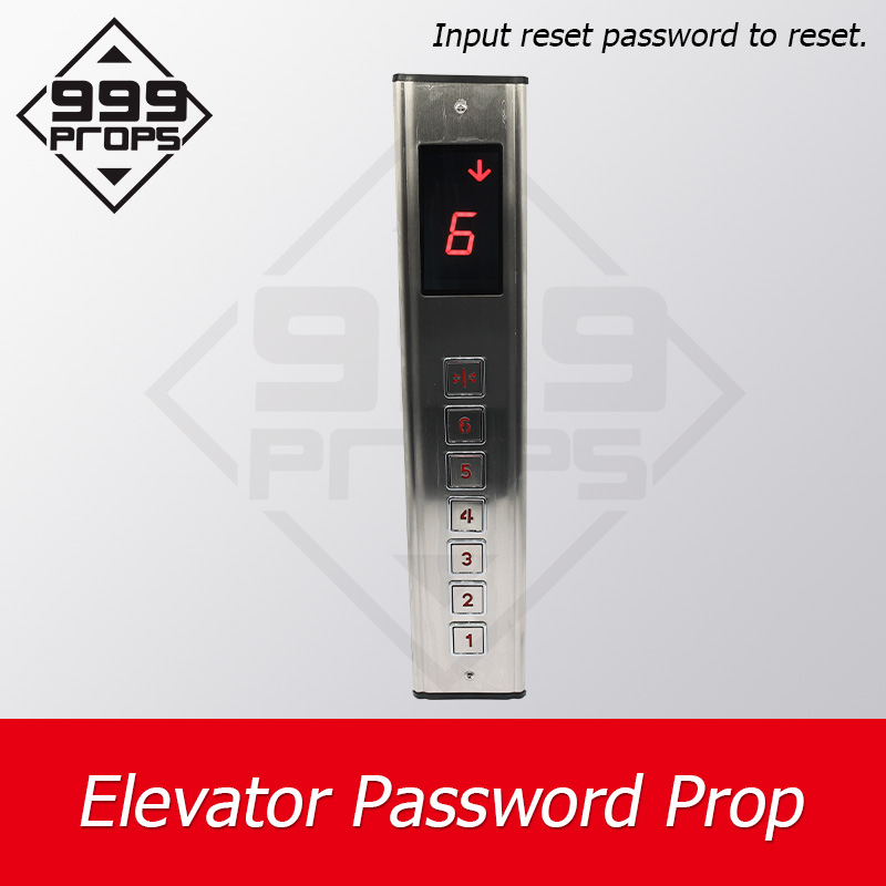 999PROPS Elevator Password Prop Escape Room Game Real Life Input Correct Password To Unlock Puzzle Game