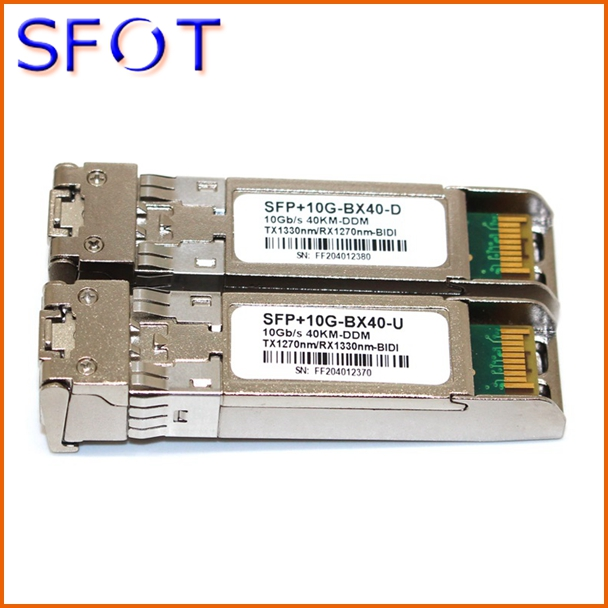 SFP modules, 10G, Simplex, SM, can work with many brands switches, 10km//20km/40km/60km for your choiceSFP modules, 10G, Simplex, SM, can work with many brands switches, 10km//20km/40km/60km for your choice