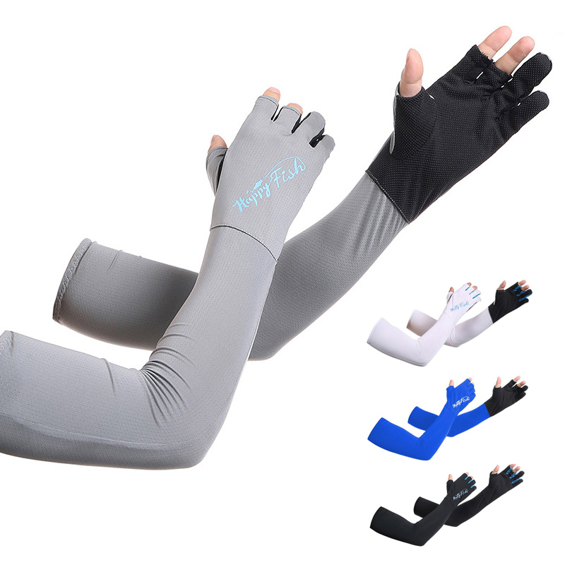 2pcs=1pair Sexy Women Summer Cold Sleeve Sun Block Uv Protection Driving Long Gloves Exposed Finger Cuff Glove High Quality And Inexpensive Back To Search Resultsapparel Accessories