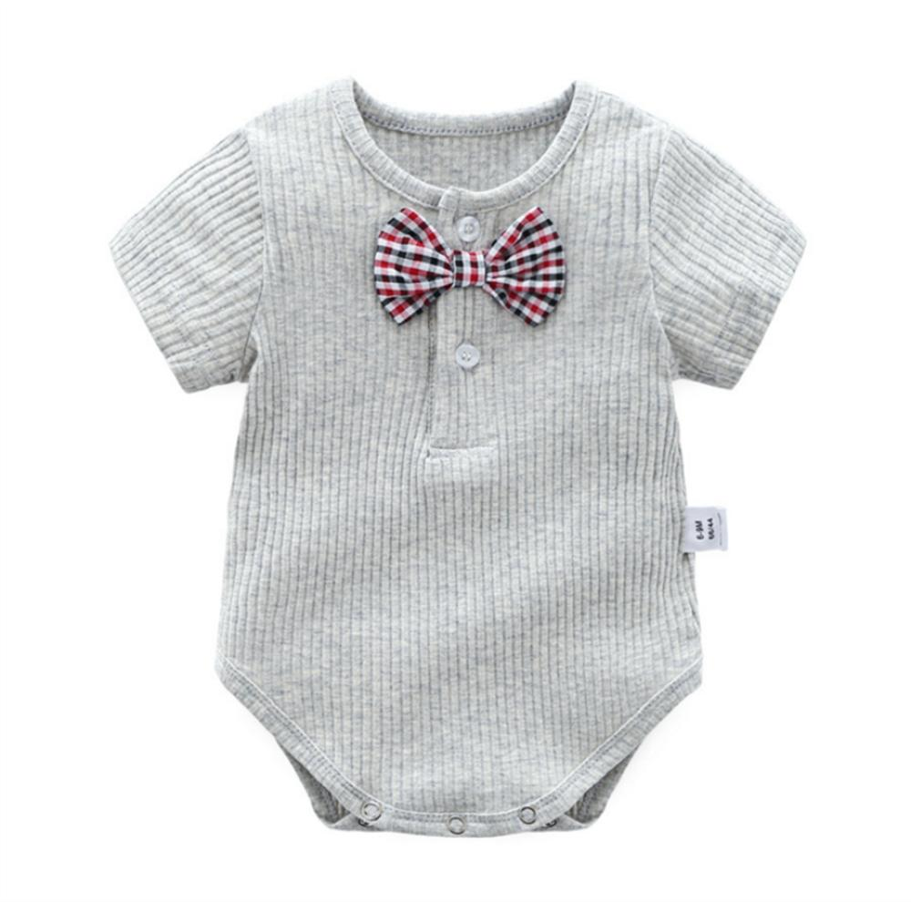 2018 New Boys Pit Baby Romper Bodysuit Candy Color Baby Clothes Short Sleeve Cotton Newborn Jumpsuit For Baby cute newborn baby girl clothes set short sleeve letter print short sleeve romper bodysuit ruffled legging warmers headband suit