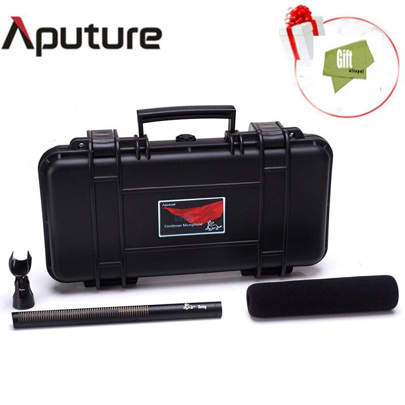 Aputure Professional Camera Camcorder Shotgun Microphone studio microphoneInterview Condenser Mic For Camera DSLR