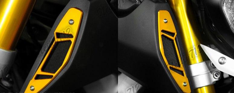 Алюминиевый ОЗУ, крышка на входное отверстие, крышка левого и правого для Yamaha MT-09 FZ-09 MT09 FZ09 2013 2014 2015 2016