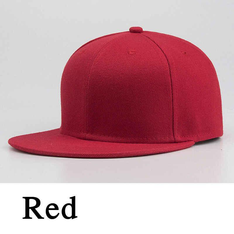 2019 Yeni Spor beyzbol şapkası Boş Düz Katı Snapback Golf topu Sokak Şapka Erkekler Kadınlar
