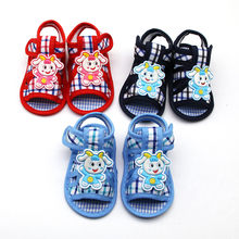 Newborn baby girl walking shoes Lamb Prewalker shoes Soft Sole Single baby princess shoes baby schoen infant sneakers(China)