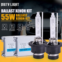 MGTV LIGHT High Quality 12V 55W Hid Xenon Kit H1 H3 H7 H27 H11 H4 Bi Xenon Hi/Low 9005 9006 D2S D2H 9012 H27 880 Headlight