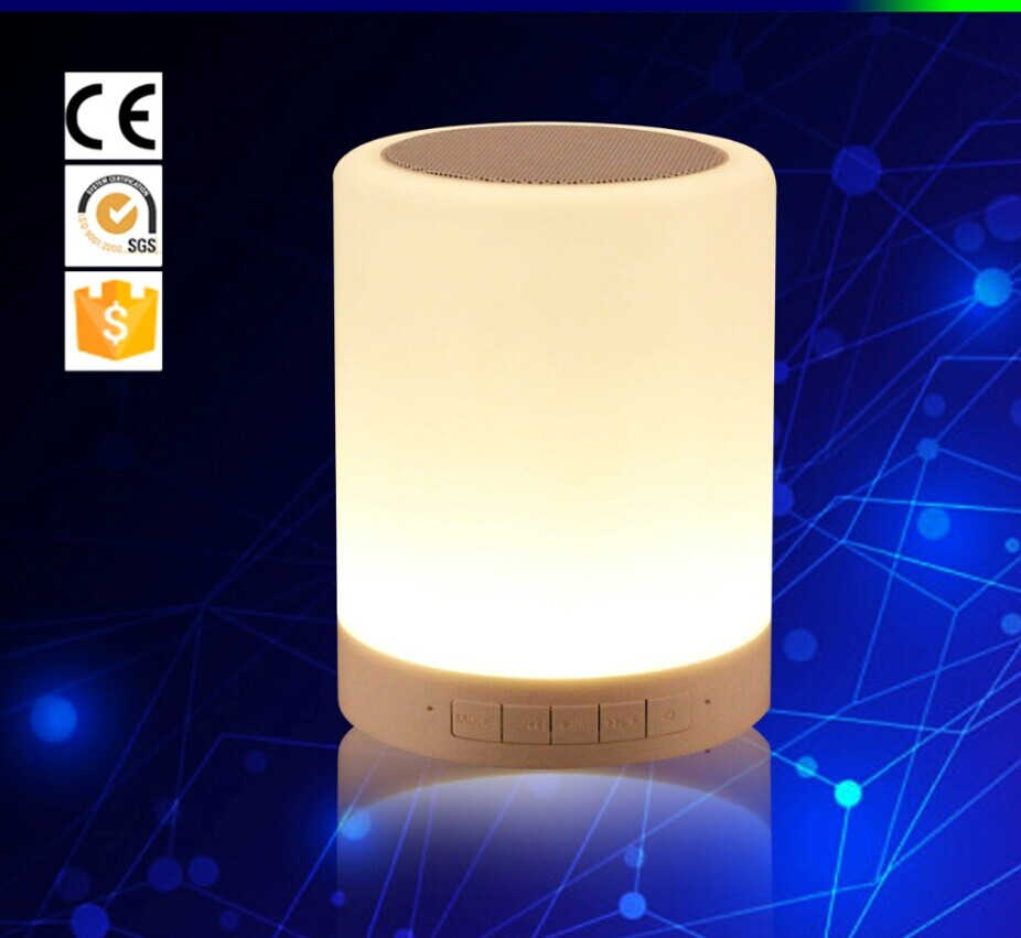 Led smart night lamp - Original Smart Night Lights Indoor Bed Bedside Lamp Touch Control Bluetooth For Phone Free Shipping