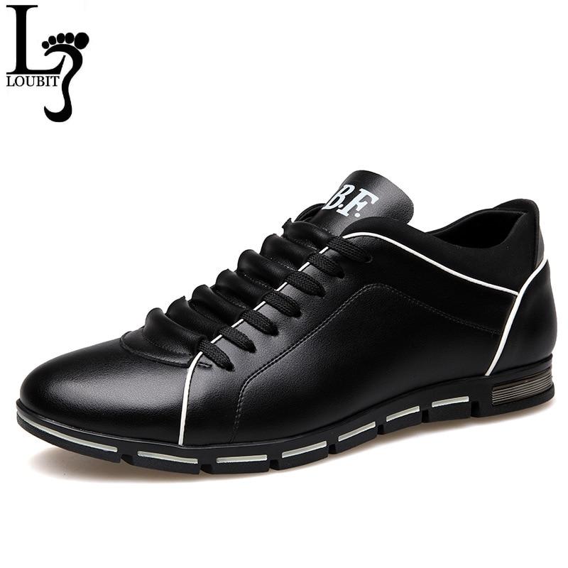 Zapatos de cuero genuino de gran tamaño de moda para hombres, zapatos casuales de alta calidad para hombres, zapatos de marca para hombres