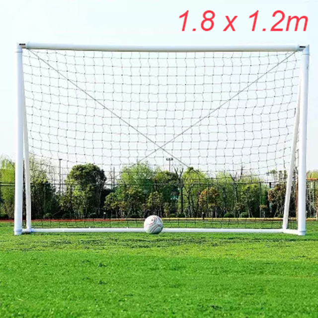 Portable Football Net 1.8X1.2M Soccer Goal Post Net Junior Soccer Sport Training Practise Football Accessories Outdoor Tools