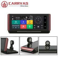 CARRVAS Android GPS Navigator Car DVR Navigation 6.86 inch 1280*480 HD Camera 16GROM with WIFI Bluetooth G-Sensor Player