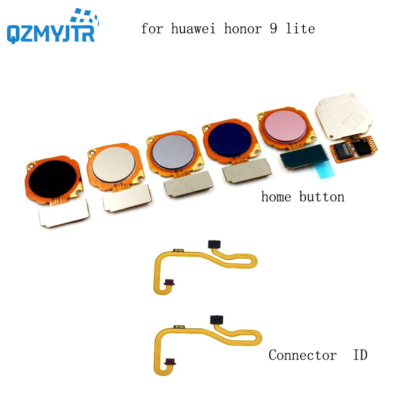 new high quanlity For Huawei Honor 9 lite Fingerprint Sensor Scanner Connector Touch ID Home Button Menu Return Key Flex Cable