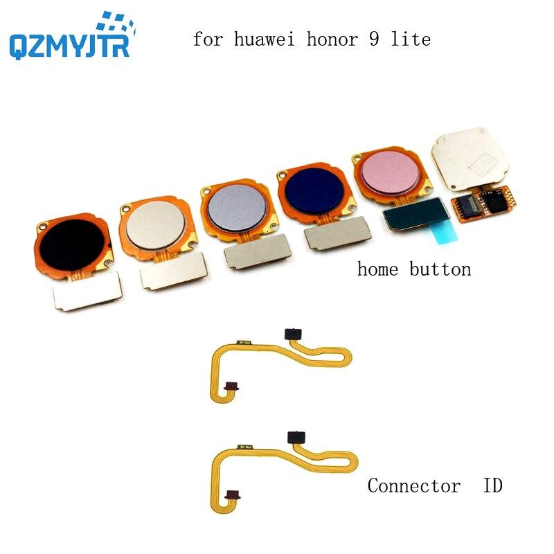 New High Quanlity For Huawei Honor 9 Lite Fingerprint Sensor Scanner Connector Touch ID Home Button Menu Return Key Flex Cable
