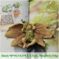 Tägliche Sammlung Engel Figur Miniatur Fee Garten Ornament Blatt baby Weihnachten baum Dekoration Für Home Weihnachten geschenk