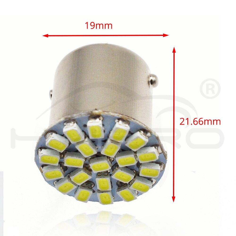 HTB1H1RcaiLrK1Rjy1zdq6ynnpXaM 1157 BAY15D 1156 BA15S 3014 22SMD Car Led P21W AUTO LED Brake Auto Front Parking Brake Lamp Backup Wedge Lamp Tail Bulb DC 12V