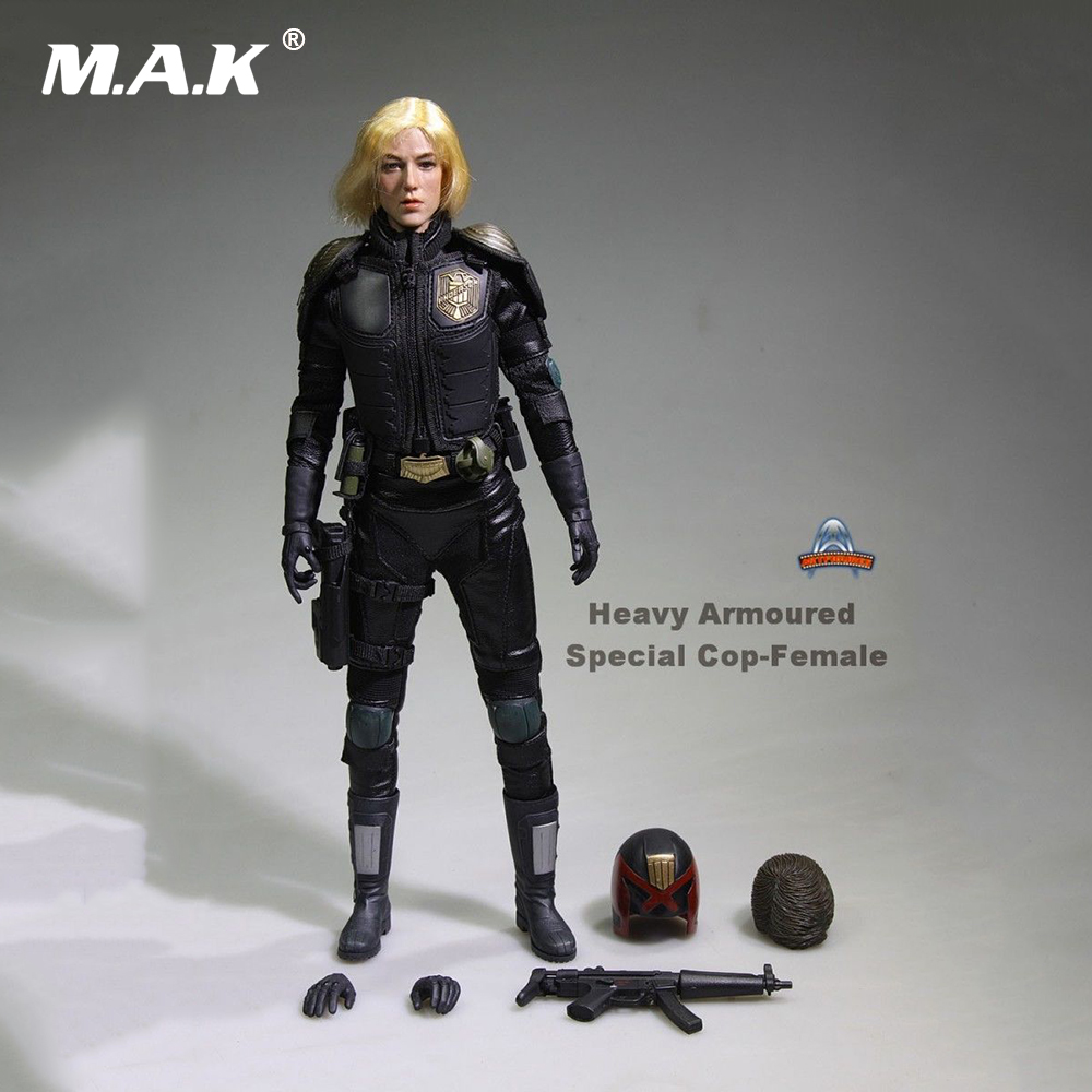 "1/6 Scale JUDGE ANDERSON 12"" Action Figure Heavy Armoured Special Cop-Female AF020 Collections"