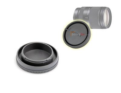 Новый 1 X Передняя Крышка Кузова + Задняя Крышка Объектива Худ Протектор для NEX NEX-3 e-крепление Камеры Штык крепление