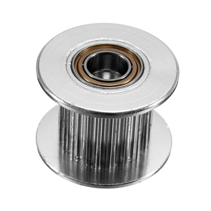 NEW 5pcs/lot 3D Printer Accessories GT2 Pulley 20 Teeth Idle Pulley Timing Gear Bore 5MM belt Width 10MM For GT2