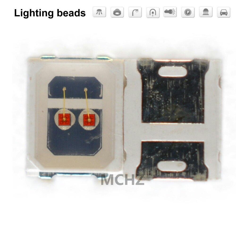 200 шт./лот SMD LED 2835 лампа с подсветкой 0,8 Вт 300 мА 2в 2.6 в желтый янтарь 588нм 590нм светоизлучающий диод|Подвесные лампочки|   | АлиЭкспресс