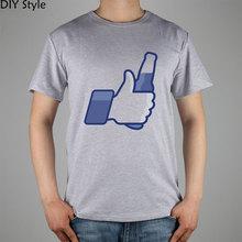 "Facebook like-inspired ""Like Beer"" T-shirt"