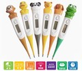 Cute Cartoon Animal diagnostic-tool Frog / Monkey/Ducks Digital Monitor Thermometer Oxter & Mouth For Baby Children Girl Toddler