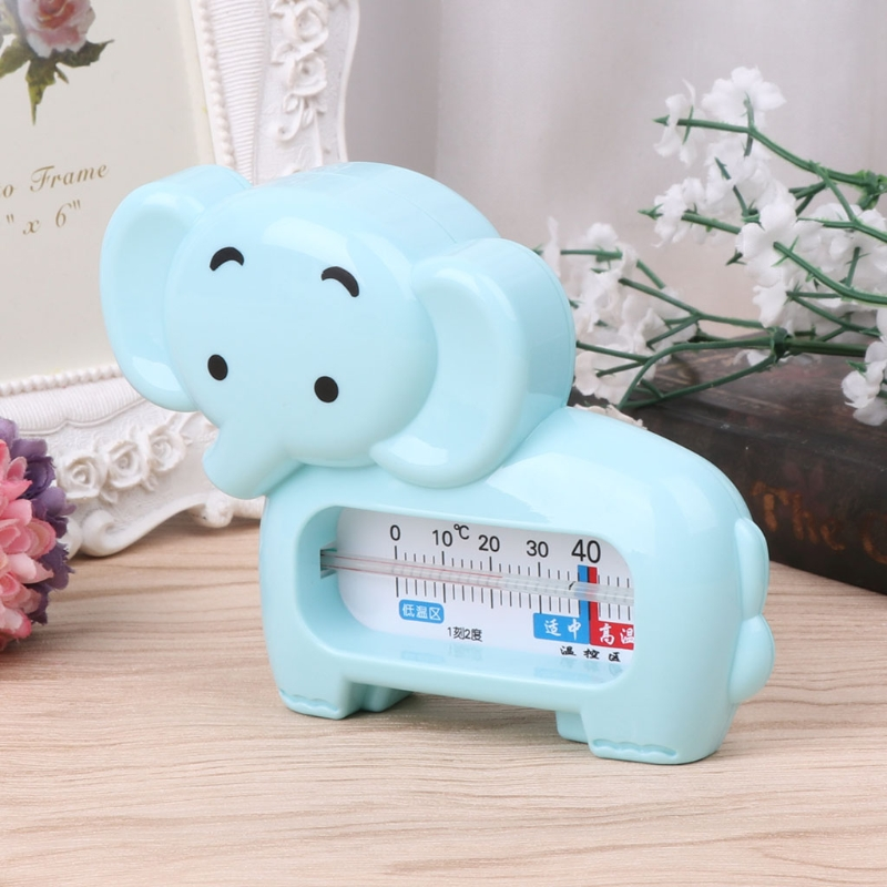 2018 New Cute Elephant Shape Water Room Thermometer Baby Bathing Temperature Infant Kid Shower